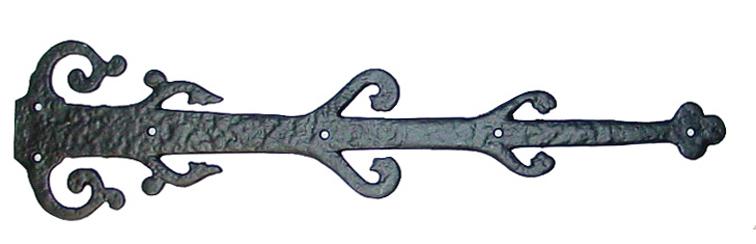 70040 save click to enlarge 22 barcelona style decorative hinge - Decorative Hinges